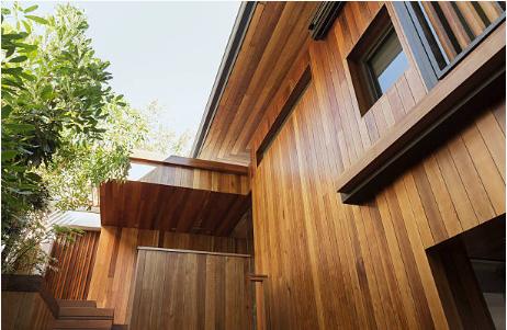 maison façade bois